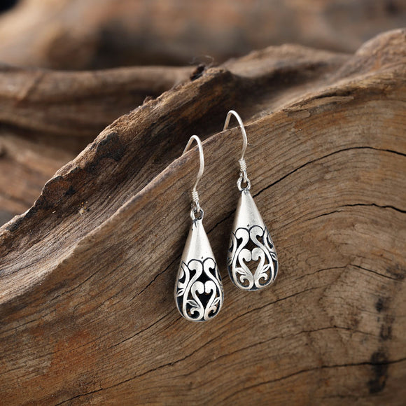 925 Sterling Drop Earrings