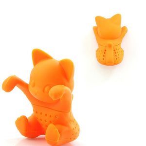 Silicone Cat Tea Infuser Or Strainer - Tea Infuser