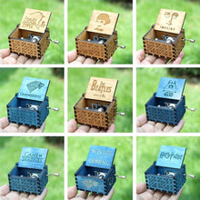 Load image into Gallery viewer, Small Handmade Wooden Music Box - Wooden Music Box