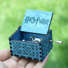 Load image into Gallery viewer, Small Handmade Wooden Music Box - 2. Harry Potter 1 - Wooden Music Box