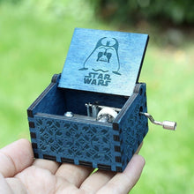 Load image into Gallery viewer, Small Handmade Wooden Music Box - 18. Star Wars 1 - Wooden Music Box