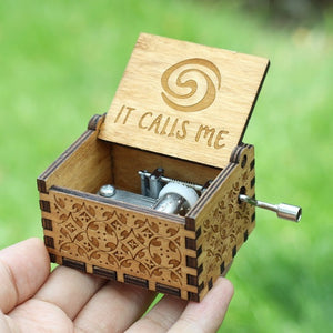 Small Handmade Wooden Music Box - 3. Island Princess - Wooden Music Box