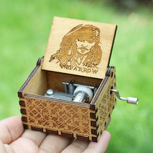 Load image into Gallery viewer, Small Handmade Wooden Music Box - 5. Jack From Pirates - Wooden Music Box