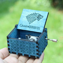 Load image into Gallery viewer, Small Handmade Wooden Music Box - 12. Game Of Thrones 3 - Wooden Music Box