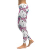 Unicorn Printed Women Leggings - Leggings