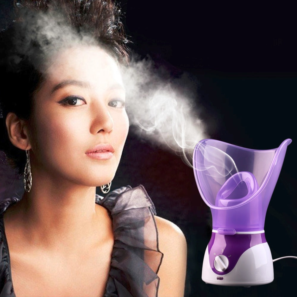 Facial Mist Steaming Sprayer - Purple - Facial Steaming Sprayer