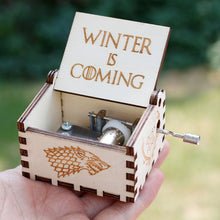 Load image into Gallery viewer, Small Handmade Wooden Music Box - 23. Game Of Thrones 4 - Wooden Music Box