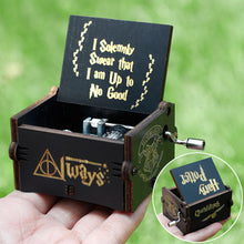 Load image into Gallery viewer, Small Handmade Wooden Music Box - 7. Harry Potter 2 - Wooden Music Box