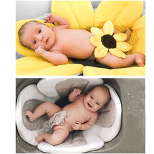 Load image into Gallery viewer, Newborn Baby Sunflower Bathtub Mat Pad - Bathtub Mat Pad