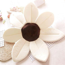 Load image into Gallery viewer, Newborn Baby Sunflower Bathtub Mat Pad - White - Bathtub Mat Pad