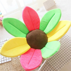 Newborn Baby Sunflower Bathtub Mat Pad - Multicolor - Bathtub Mat Pad