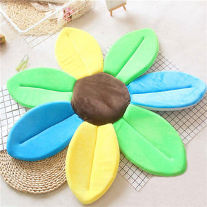 Newborn Baby Sunflower Bathtub Mat Pad - Colorful - Bathtub Mat Pad