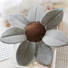 Load image into Gallery viewer, Newborn Baby Sunflower Bathtub Mat Pad - Grey - Bathtub Mat Pad