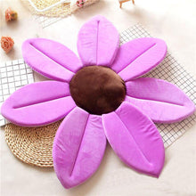 Load image into Gallery viewer, Newborn Baby Sunflower Bathtub Mat Pad - Purple - Bathtub Mat Pad
