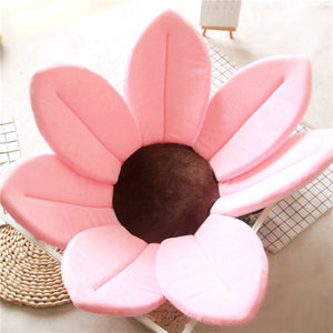 Newborn Baby Sunflower Bathtub Mat Pad - Pink - Bathtub Mat Pad