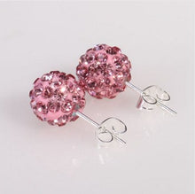 Load image into Gallery viewer, Mini Ball Crystal Stud Earring, 10 Colors