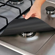 Load image into Gallery viewer, Gas Stove Cooker Protectors Mat (27*27Cm X 4Pcs) - Stove Mat Cover