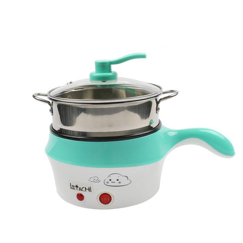 Multifunction Electric Double Layer Non Stick Cooker & Food Steamer-Food Steamer-Fynn Depot-blue-Fynn Depot