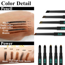 Load image into Gallery viewer, 3 in 1 Eyebrow Enhancer Pencil (2 pcs set)