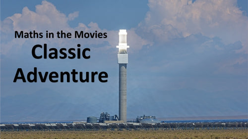 Maths in the Movies: Sahara (E-book only)