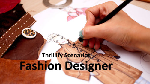 Thrillify: Fashion Designer (E-book only)