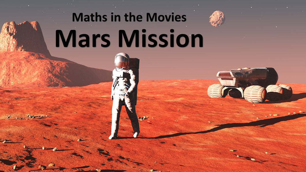Maths in the Movies: The Martian (E-book only)