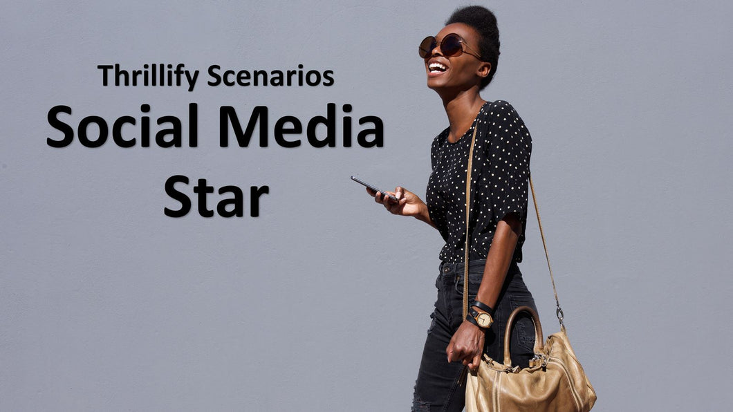 Thrillify: Social Media Star (E-book only)