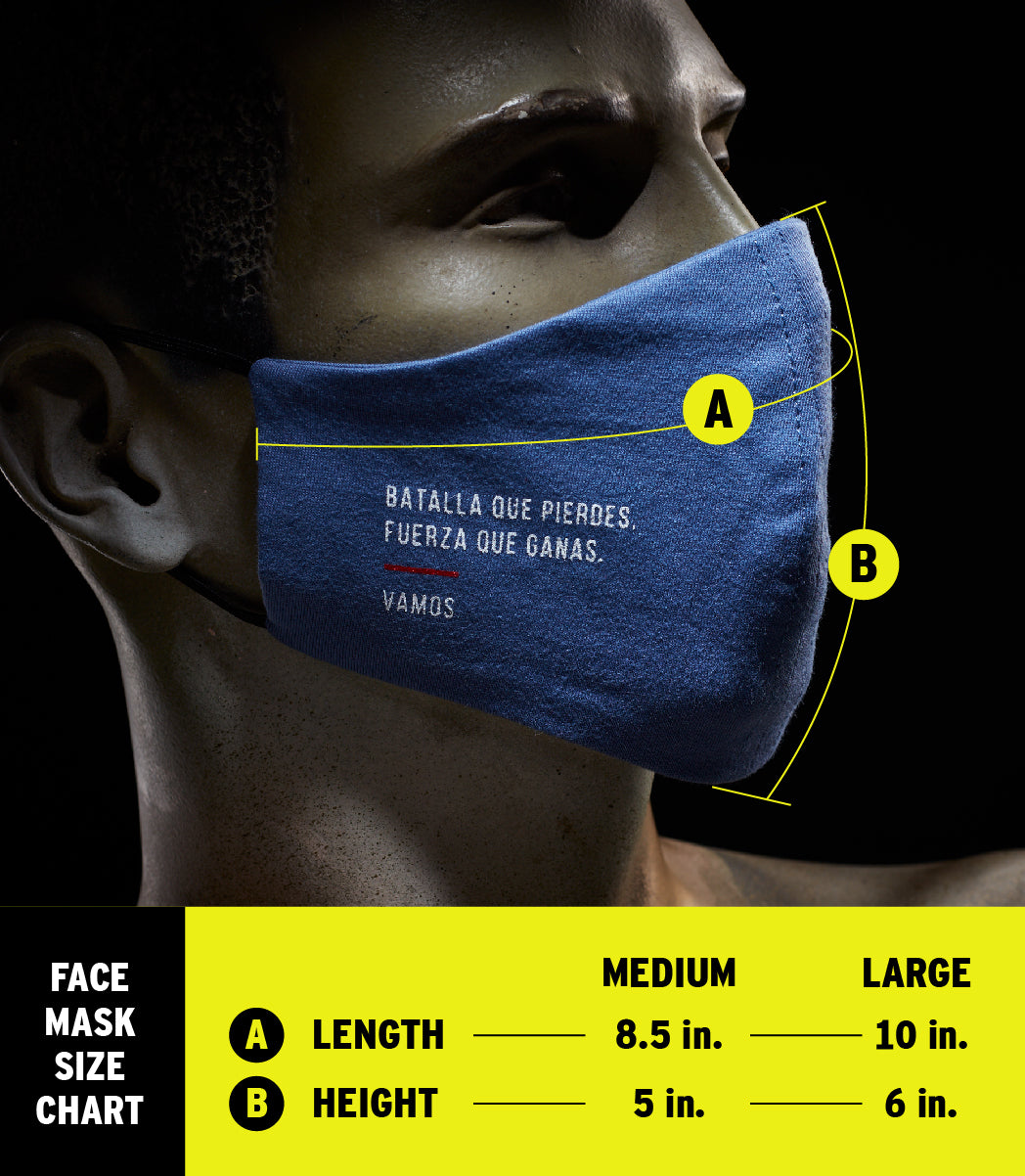 HERO MASK (BLUE)