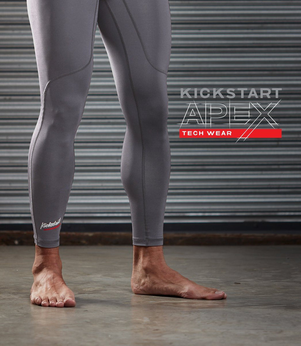 Apex Base Layer Tights (Gray)