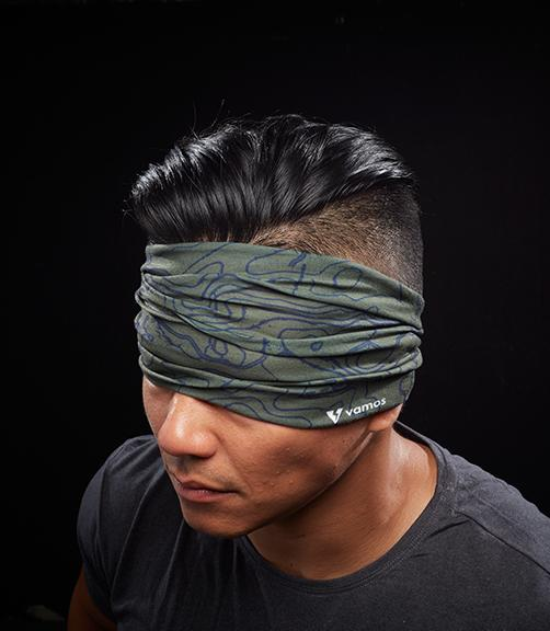 EASTONIA MILITARY HEAD SCARF