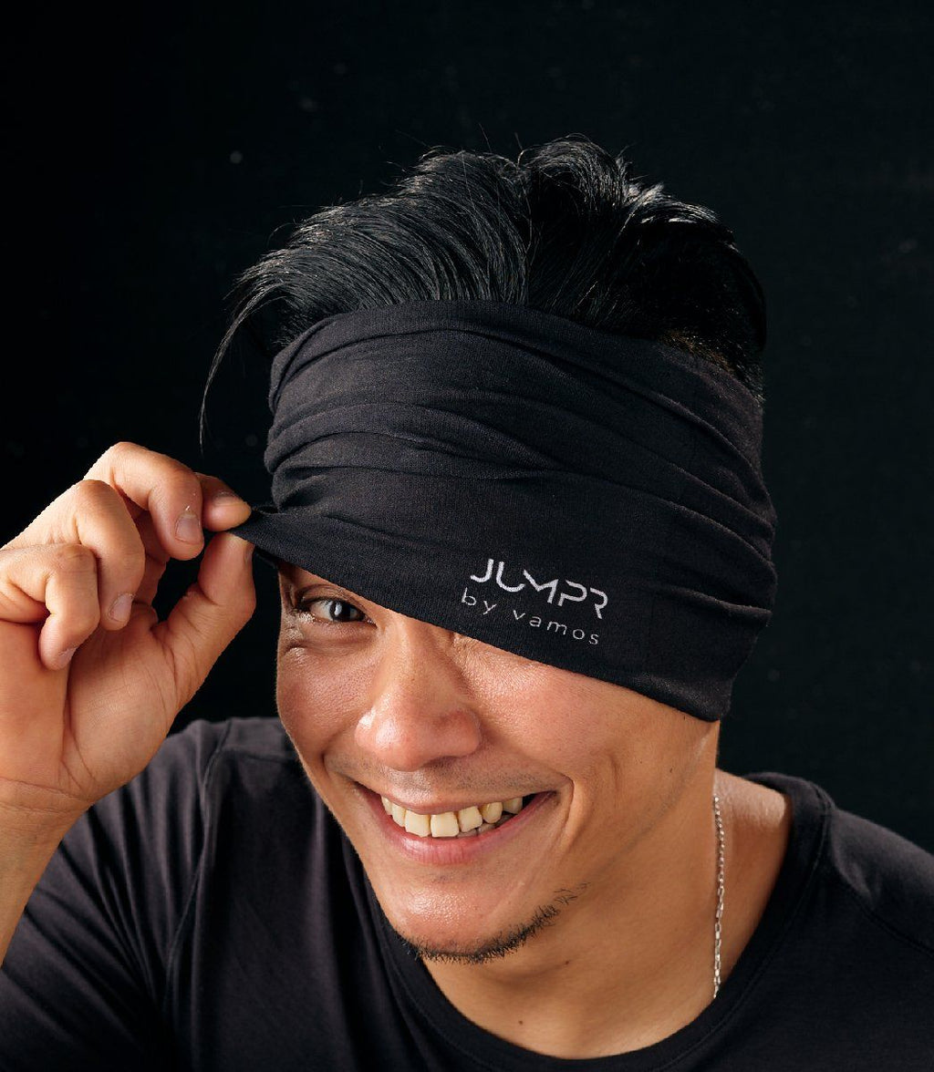 JUMPR HEAD SCARF (BLACK)