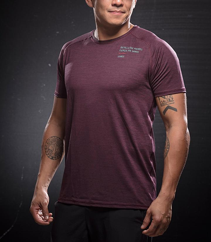 Men's Tops - LUCHO (MAROON)