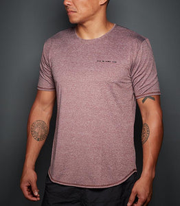 Men's Tops - MORSE (HEATHER MAROON)