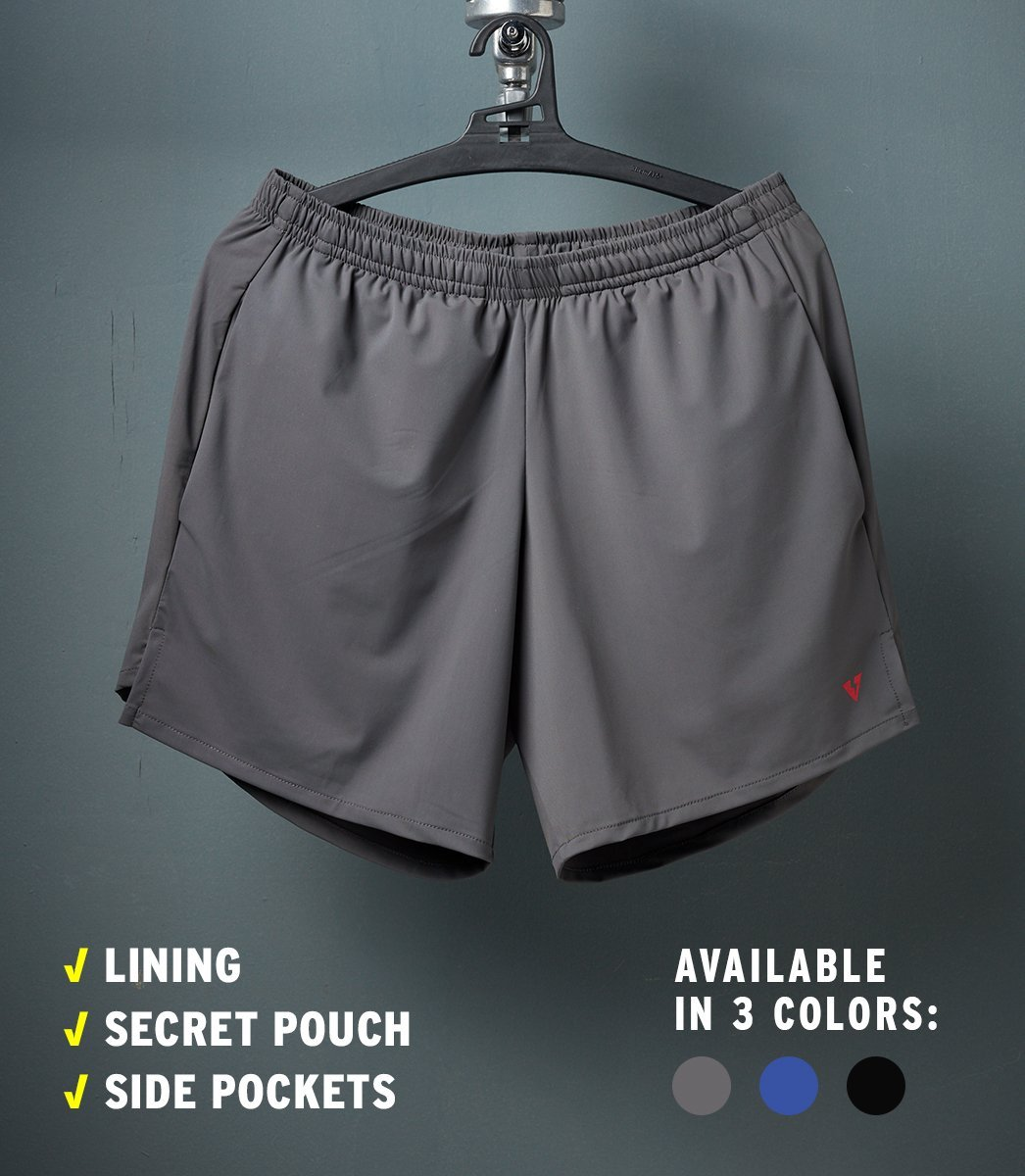 SPEED SHORTS (GRAY)