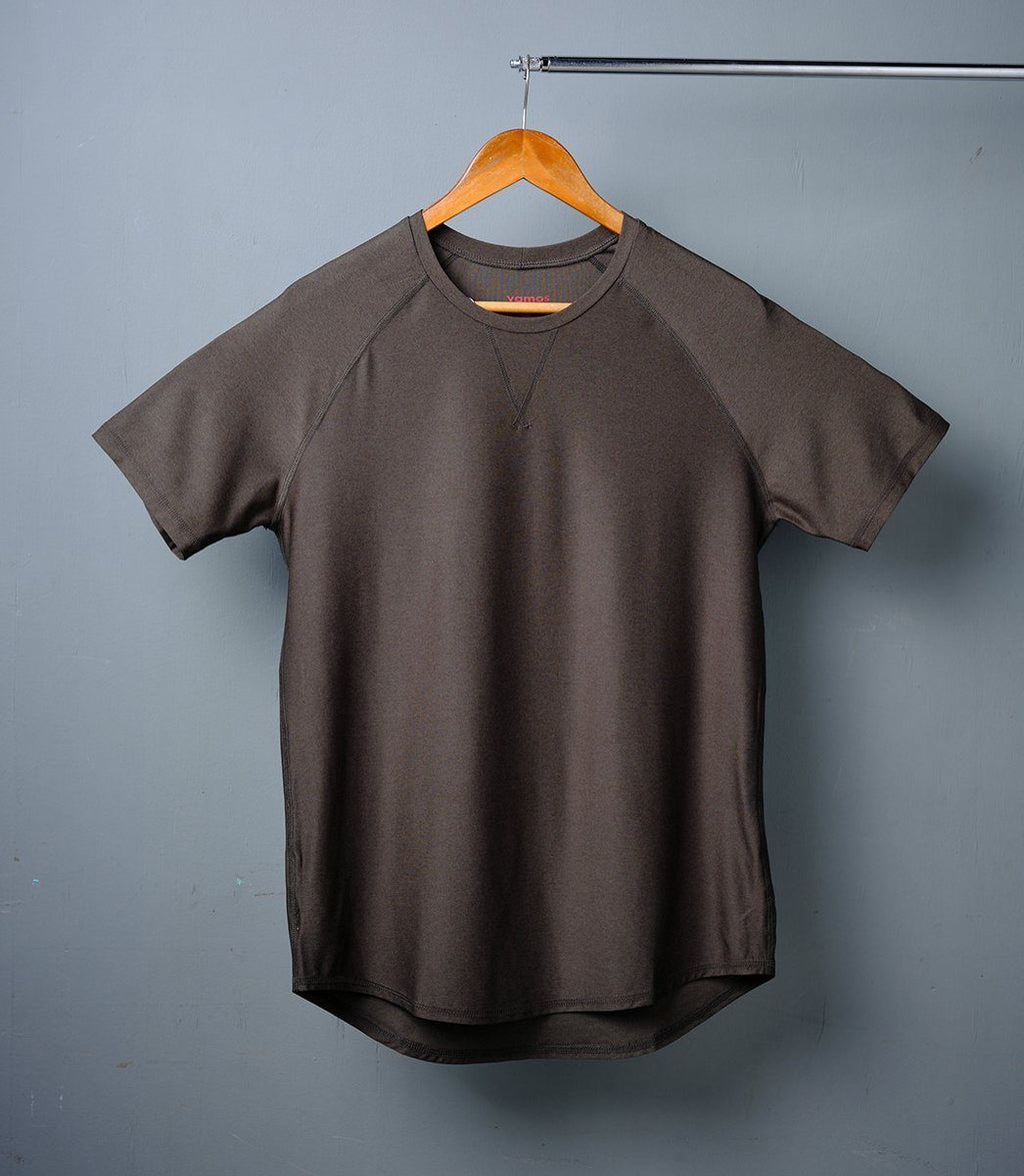 TECH TEE (DARK OLIVE GREEN)