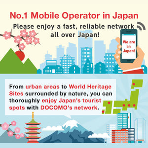 Japan Sim Card Docomo 30 days | Travel Prepaid Unlimited