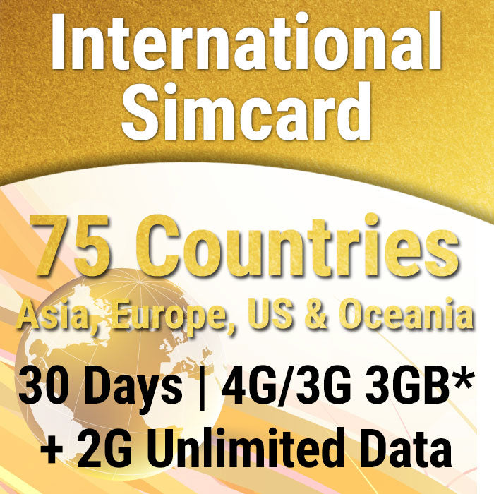 International sim card