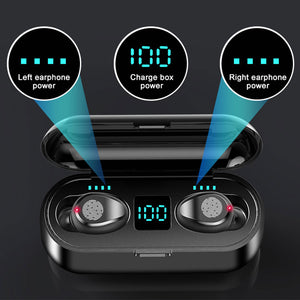 Bluetooth Wireless Earbuds TWS IPX7 Waterproof