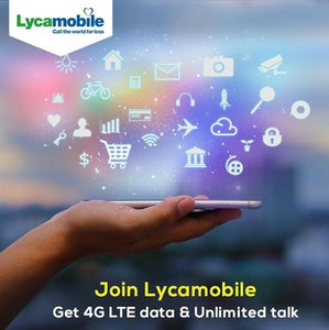Sim Card USA Prepaid (incl Hawaii) | Lycamobile | Unlimited calls and texts to Australia