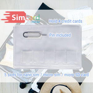 Simcard holder