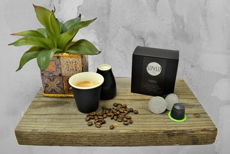 Bio-pods pods for purpose sip4sip coffee capsules