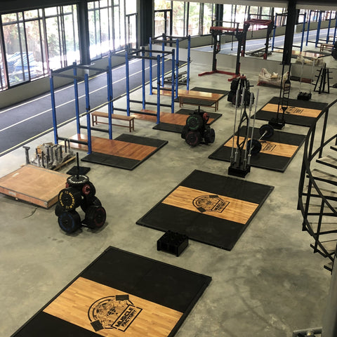 Image of Olympic Platform 3x2 - Bench Fitness Equipment