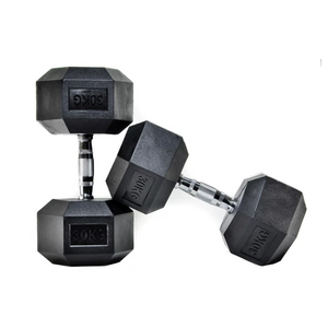 Hex Dumbbells KG - Bench Fitness Equipment