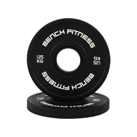 Black Change Plates - Bench Fitness Equipment