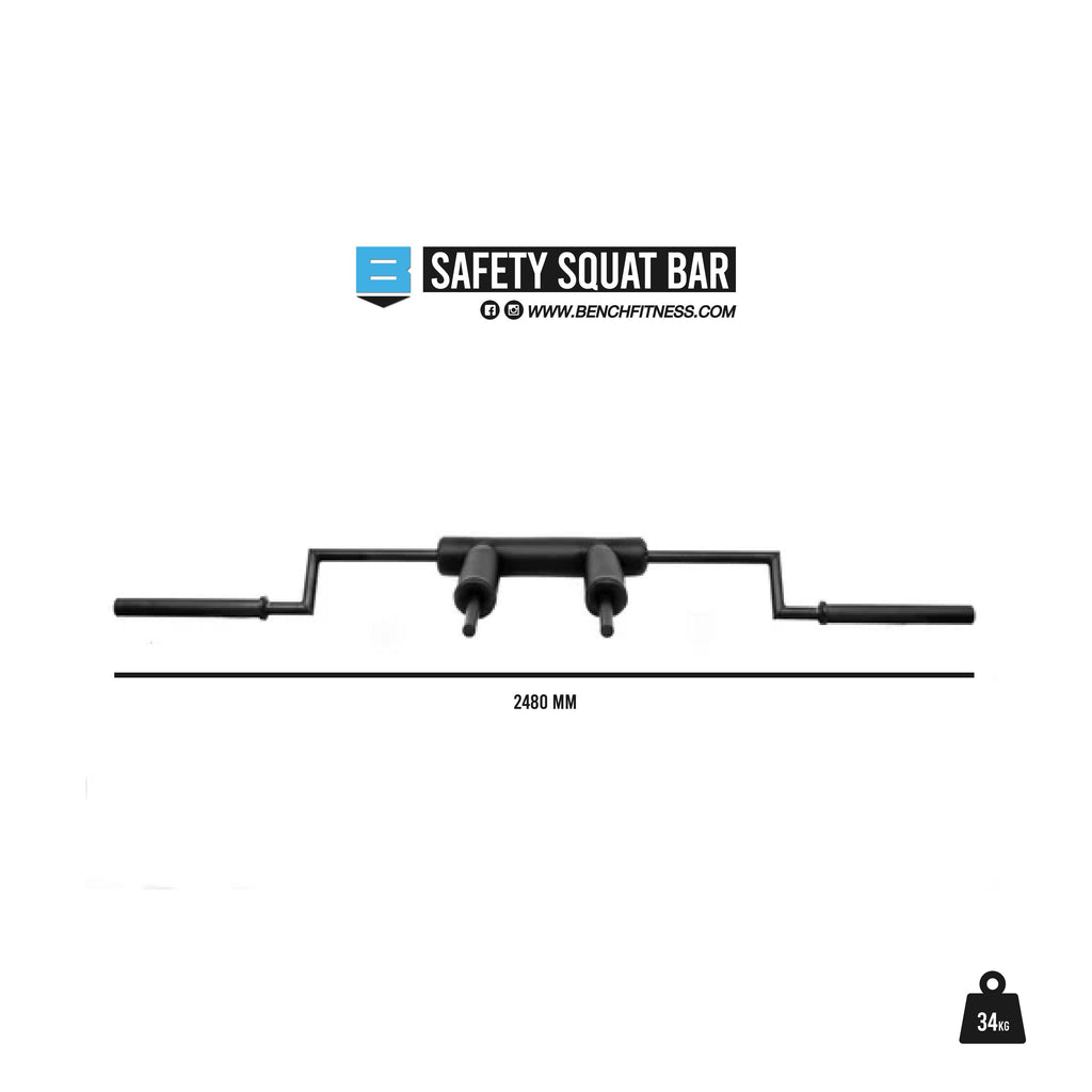 Safety Squat Bar - Bench Fitness Equipment