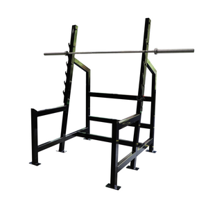 Olympic Squat Rack - Bench Fitness Equipment