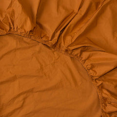 Cotton Fitted Sheet Amber