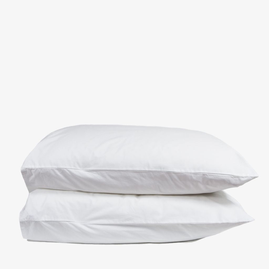 Heavyweight Cotton Percale Pillowcase Set
