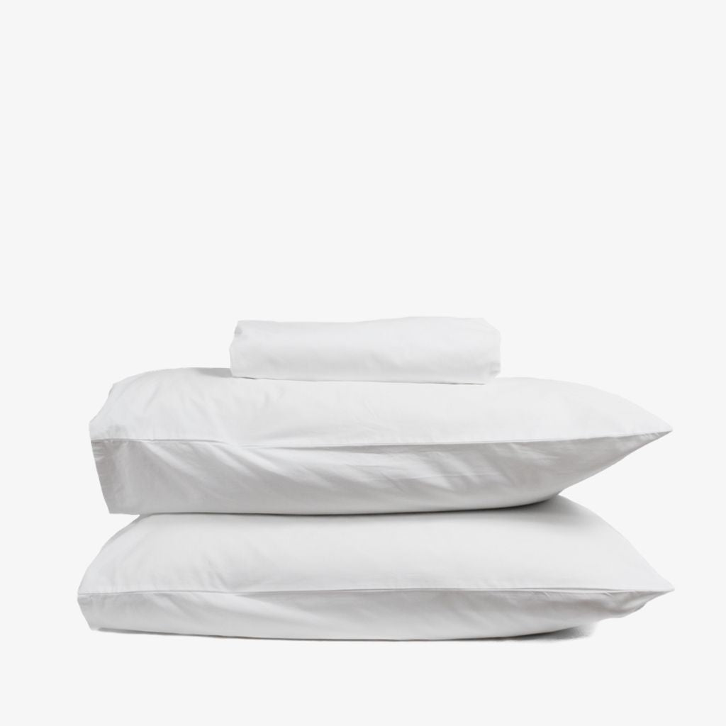 Heavyweight Cotton Percale Sheet Set