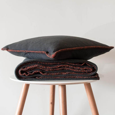 Australian Merino Wool Throw and Cushion Cover